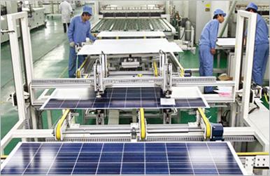 太阳neng板生产线